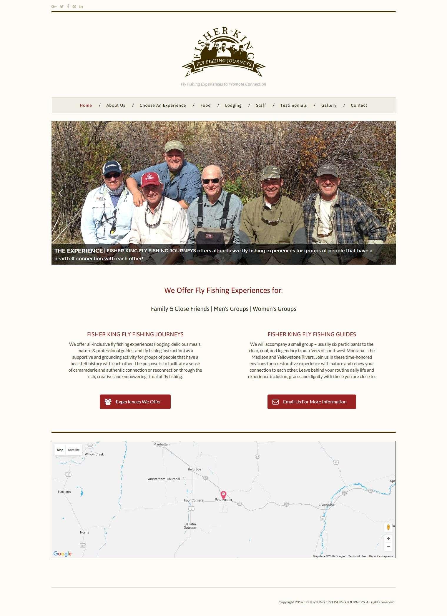 Website full screenshot
