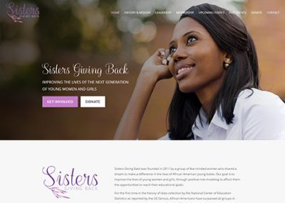 Sisters Giving Back